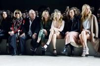 Kendall Jenner, Anna Wintour, Sir Philip Green, Kate Moss, Lottie Moss, Natalie Massenet, Poppy Delevingne at Topshop Unique