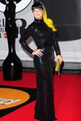 Lily Allen wore a 1965 Norrell dress from William Vintage