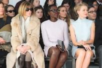 Lupita Nyong'o, Naomi Watts and Anna Wintour at Calvin Klein