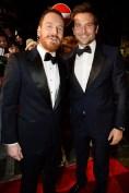 Michael Fassbender y Bradley Cooper