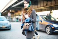 Miroslava Duma in Marc Jacobs and Hermes