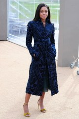 Naomie Harris at Burberry
