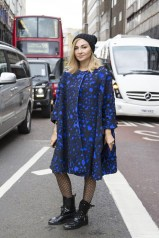 Nasiba Adilova in Roksanda Ilincic and Louis Vuitton
