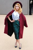 Paloma Faith at Burberry