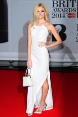 Pixie Lott wore a DKNY dress