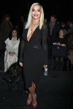 Rita Ora at Donna Karan