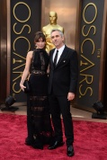 Alfonso Cuaron and Sheherazade Goldsmith
