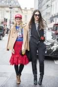 Alina Tansa and Diana Enciu in Le Petite Joueurs bags