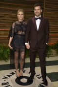 Diane Kruger in Valentino Couture with Josh