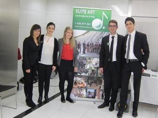 Con el fantástico equipo de SuiteArt Música