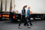 in Prada, Louis Vuitton and Saint Laurent