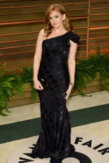 Isla Fisher in Zac Posen