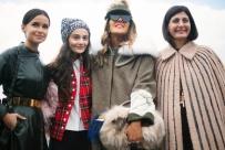 Miroslava Duma, Natalia Alaverdian, Anna dello Russo y Giovanna Battaglia