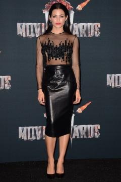 Jenna Dewan Tatum in Pamela Roland